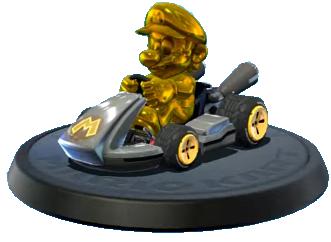 マリオカート8 デラックス 隠しキャラクター「ゴールドマリオ」の出現方法