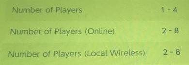 ARMS ローカル通信とオンラインは8人まで対応か