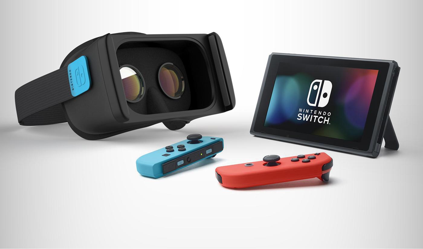 ニンテンドースイッチ VRのコードを発見