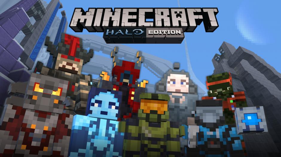 マインクラフト Halo Packがニンテンドースイッチでも利用可能に