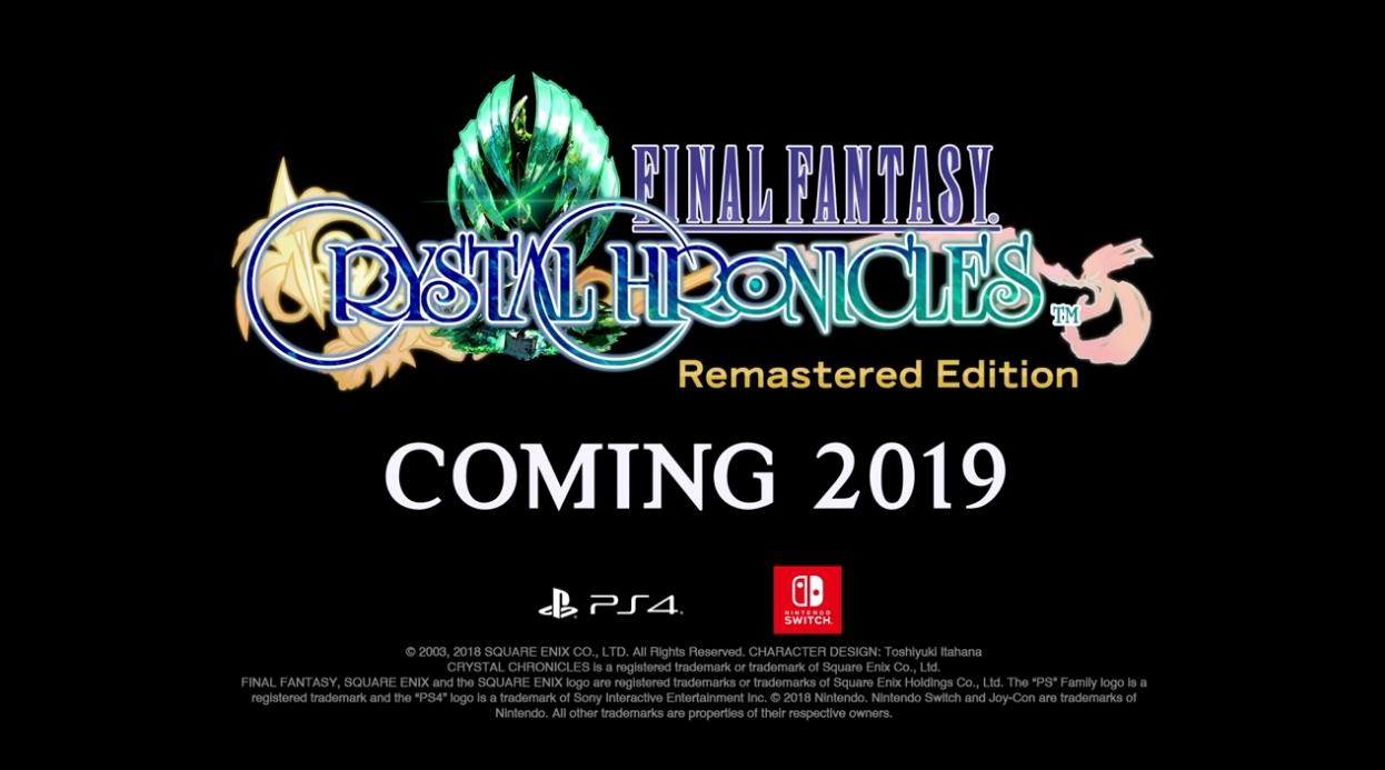 ファイナルファンタジー・クリスタルクロニクル リマスター ニンテンドースイッチ/PS4で2019年発売